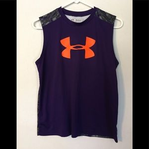 Under Armour Youth Heat Gear Sleeveless Shirt XL